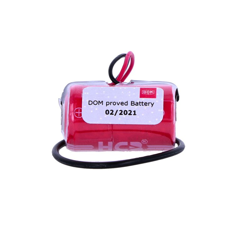 Batterie für DOM Protector 3,6V 1/2 AA Lithium